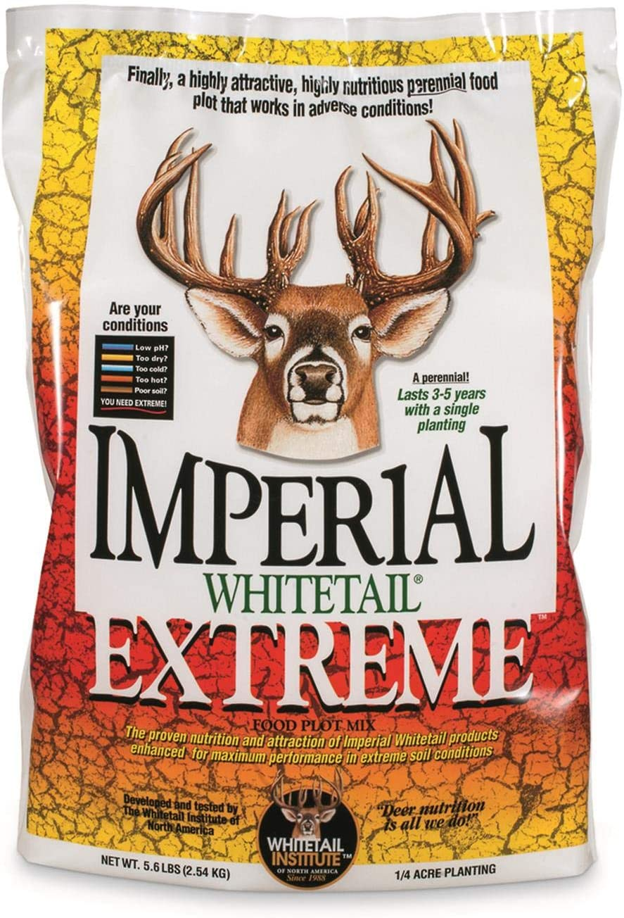 Whitetail Institute Imperial Spring new store work Extreme Food Plot Mix 5.