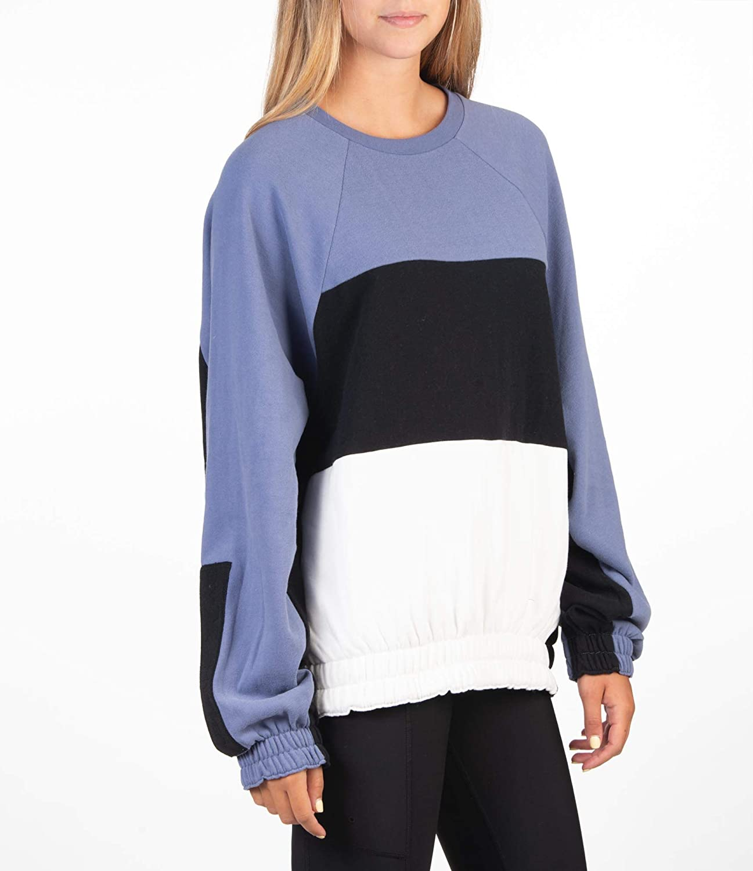 Hurley W O&o Dolman Fleececrew Sweat-Shirts Femme World Indigo