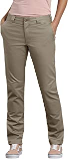 Dickies womens Double Knee Work Pant with Stretch Twill Work Utility Pants