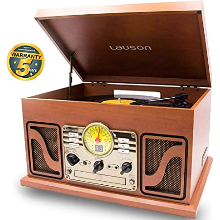 Lauson Cl606 Nostalgie Radio Mit Plattenspieler Retro Elektronik