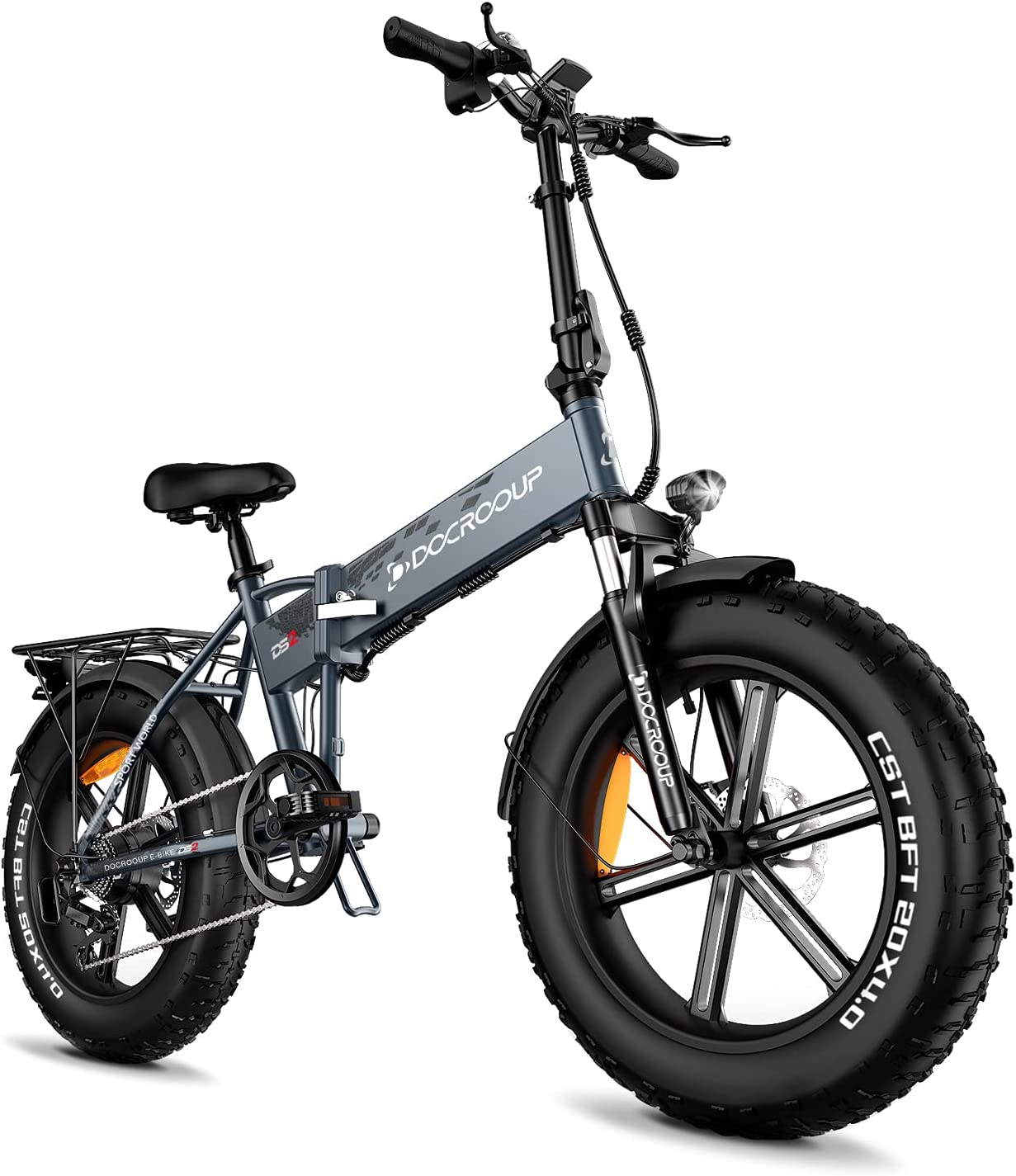 Electric Cheap Max 82% OFF Fat Tire Bike for Ti Adults Folding -