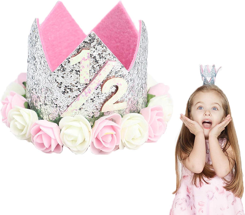 Max 87% OFF VCOSTORE Birthday Hat Baby Girl Tiara P Choice Crown Princess