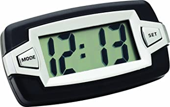 small digital clock with stick-on mount