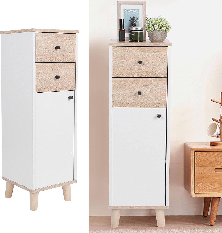 Estink Storage Inexpensive Super sale Cabinet Floor Corrosion‑Resistant MDF
