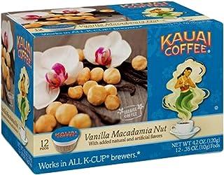 Kauai Coffee, Vanilla Macadamia Nut (Pack of 3)