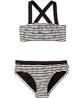 Stripe Mini Tube Bikini (Little Kids/Big Kids)