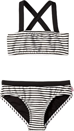 Stripe Mini Tube Bikini (Little Kids/Big Kids)