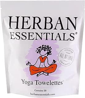 Herban Essentials Towelettes - Yoga