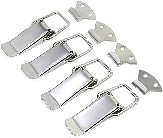 Juego de 4 cierres de acero inoxidable para puertas y ventanas HSeaMall