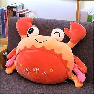 Jouet en peluche Craft mignon peluche d'oreillers en peluche doux trous de dessin animé crabe jouets enfants poupée canapé...