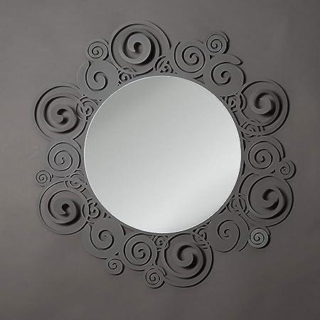 Specchio Moderno Per Ingresso.Arti E Mestieri Orfeo Specchio A Parete Per Ingresso Moderno Metallo Fango Amazon It Casa E Cucina