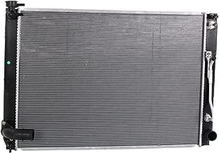 Radiator Aluminum Core Plastic Tank for Sienna 07-10 W/Filler Neck