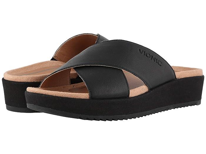 VIONIC  Hayden (Black) Womens Sandals