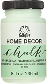 FolkArt Home Decor Chalk Furniture & Craft Paint in Assorted Colors (8 Ounce), 34924 Seaside Villa