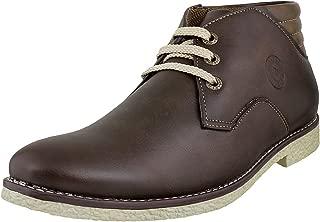 Walkway Men's Brown Boots-10 UK (44 EU) (17-8967)