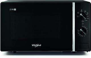 Whirlpool MWP 103 B - Horno microondas Cook 20 + Grill, 20 litros, negro, con rejilla alta, 700 W