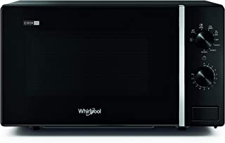 Whirlpool MWP 103 B Four à micro-ondes Cook 20 + Grill, 20 litres, noir, avec grille haute, 700 W