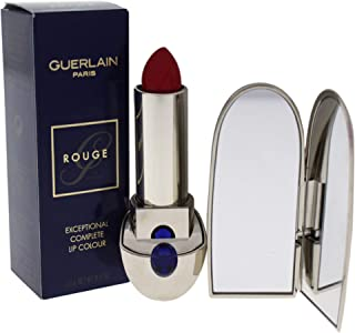 Guerlain Exceptional Complete Lip Color 821 Rouge Saphir for Women - 0.12 oz, Pack Of 1