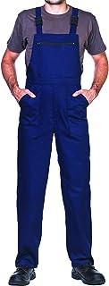 Bib and Brace Dungaree, mens, Prowear, Overalls Workwear (M, Navy)