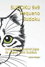SUDOKU 9x9 Pequeno Sudoku: treinamento cerebral jogos de viagem 1000 Sudokus (Portuguese Edition)