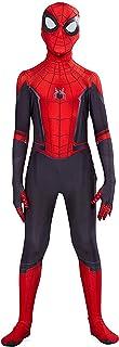 Riekinc Kids Lycra Superhero Suits Halloween Cosplay Costumes 3D Style