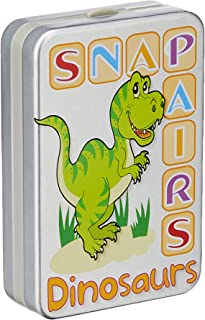 Cheatwell 13961 Snap and Pairs Card Game, Dinosaurs