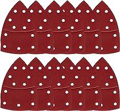 BETOY 60-delige schuurbladen, 150 x 105 mm klittenbandschuurpads 40/60/80/120/180/240 korrelgroottes voor Bosch Multi-Sand...