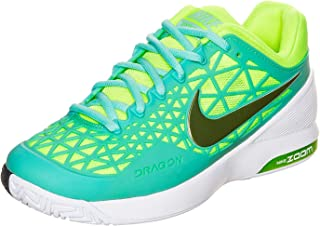 super popular df925 6fb94 Nike Zoom Cage 2 (Light Aqua White Classic Charcoal Volt) Womens
