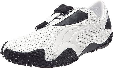 Puma Mostro Perf Leather, Baskets en cuir pour homme - Blanc ...