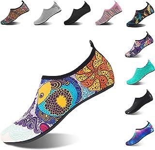HMIYA Aqua Socks Beach Water Shoes Barefoot Yoga Socks Quick-Dry Surf Swim Shoes for Women Men