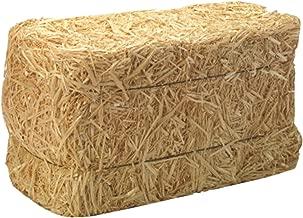 FLORACRAFT Decorative Straw Bale, Natural, 12
