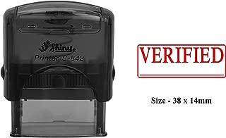 VERIFIED Shiny S-842 Self Inking Custom Office Use Custom Rubber Stamp