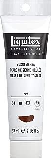 Liquitex Bs127 Professional Heavy Body Acrylic Paint, 2 oz, Burnt Sienna