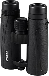 Wingspan Optics CrystalView UltraHD 8X42 - ED Glass Binoculars for Bird Watching for Adults - Extra Wide Field of View, Close Focus, Phase Correction Coating for the Ultimate in Clarity and Brightness