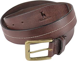 HIDE & SKIN # Marcos # Men's # 100% Genuine Leather # Handmade Belt # Free Size