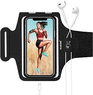 MEMUMI Brazalete para Teléfono, Correr Bandas de Brazo para Celular Compatible con iPhone 12 Pro Max/11 Pro MAX/XR Brazale...