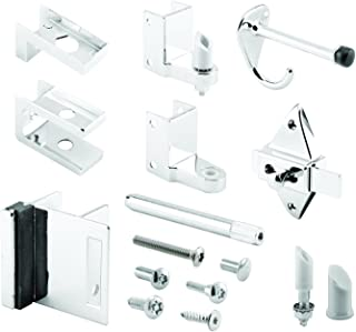 Sentry Supply 656-3111 7/8 in. Door & 1-1/4 in. Pilaster, Zamak, Chrome, Outswing, Pack of 1 Kit