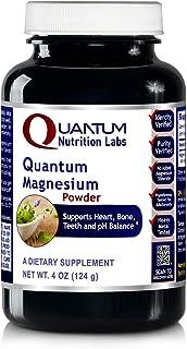 Quantum Magnesium Powder, Watermelon Flavor, 4oz Vegetarian Powder - Magnesium Lactate Powder - Highly Absorbable Source o...