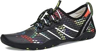 Mishansha Mens Womens Water Shoes Quick Dry Barefoot for Swim Diving Surf Aqua Sports Pool Beach Walking Yoga