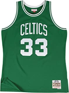 Larry Bird Boston Celtics Mitchell and Ness Men s Green Throwback Jesey b219fe0fe