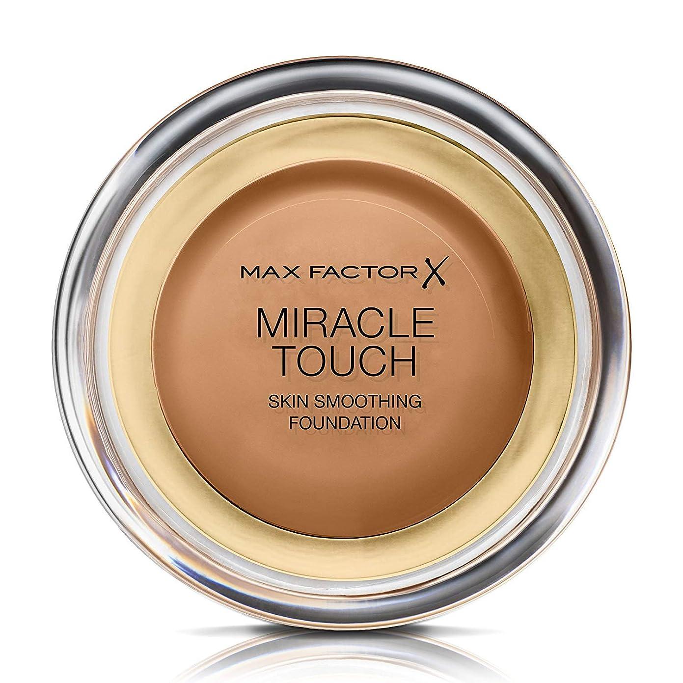 赤字ハリケーン外交マックス ファクター ミラクル タッチ スキン スムーズ ファウンデーション - カラメル Max Factor Miracle Touch Skin Smoothing Foundation - Caramel 085 [並行輸入品]