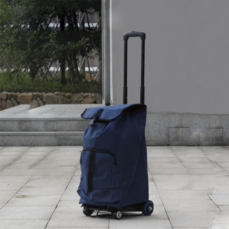 MOXIN Travel Trolley - Capacity Shopper Cart , mini four wheel + cloth bag