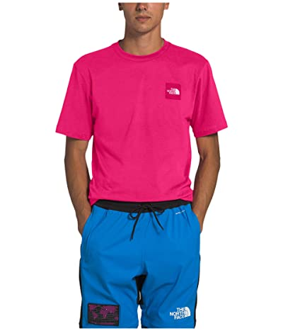 The North Face Short Sleeve Red Box Tee (Mr. Pink) Men