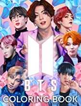 BTS Coloring Book: Bangtan Boys Coloring Books for KPOP & Army Fans