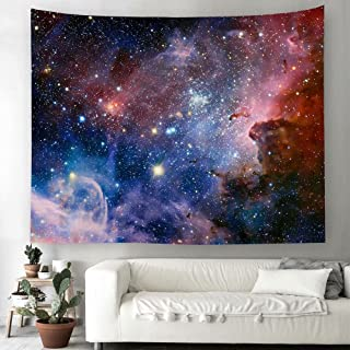 TSDA Space Wall Tapestry,Tapestry Universe Galaxy and Tapestry Star Space Wall Hanging for Living Room Bedroom Dorm (79