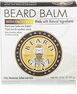 Beard Guyz Coarse Beard Balm, 3 Ounce