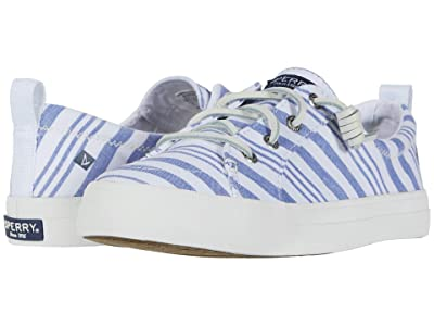 Sperry Crest Vibe Beach Stripe (Blue/White) Women