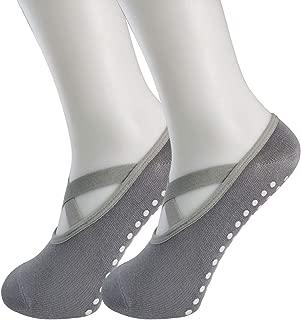 Yoga Socks Women's Non-Slip Anti-Skid Pilate Grips for Pilates Pure Barre Ballet Dance Hospital Socks