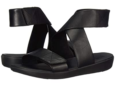 FitFlop Carin Back-Strap Sandal (All Black) Women