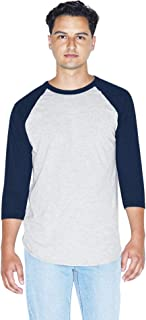 50/50 Raglan 3/4 Sleeve T-Shirt, 2-Pack